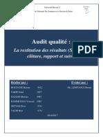 Audit Qualité (1)