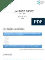 Amaurosis Fugaz 2017