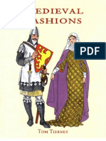 Medieval Fashions Coloring Book, 52i, English