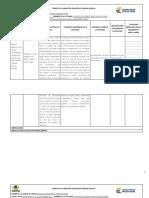 Formato de Planeación Pedagógica Primera Infancia
