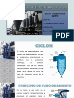 Diseño de Ciclon