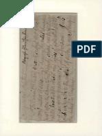Parte de una carta