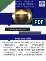 Experimentos PVT