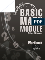 Workbook of the Basic Math Modulet.wilton Oltmanns