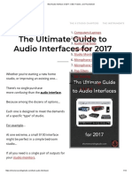 Best Audio Interface of 2017_ USB, Firewire, And Thunderbolt
