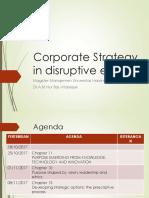 Corporate Strategy MMUH