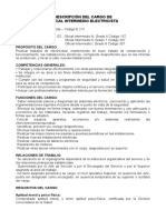 e215- Electricista- Nivel Operativo