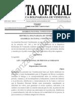 Gaceta Oficial Extraordinaria 6342
