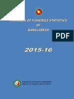 Yearbook Fisheries Statistics of Bangladesh 2015-2016