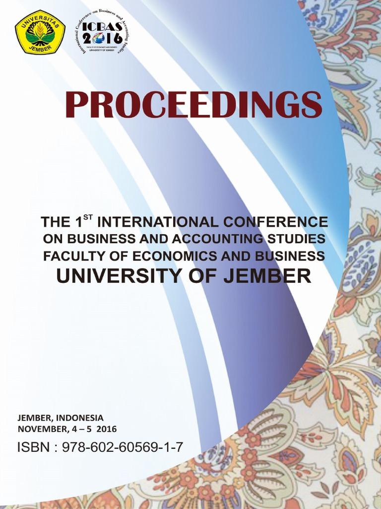 Proceedings Of 1st Icbas 2016 18112016 E Government Cloud Computing Produk Ukm Bumn Travel Bag Small Size