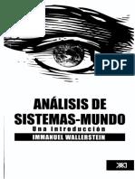 Sistemas-mundo Wallerstein 2005