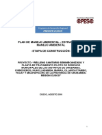 Anexo 02 Plan de Manejo Ambiental Estrategia de Manejo Ambiental
