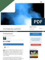 Https Fee Org Articles Civil-liberties-And-civil-commitment