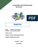 INSTRUMENTO DE MEDICION OHMETRO.docx