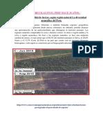 Areas Agricolas Peru