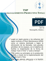 TPM (Mantenimiento productivo total)