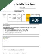 brooke   neil teacher portfolio entry page