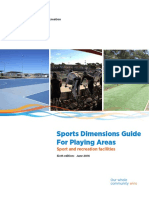 Sports Dimensions Guide Leederville