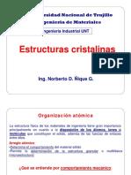 4. Estructuras Cristalinas 2015
