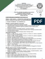 Tematica Examen Licenta KMS Iulie 2014