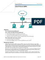 3.4.3.5 Lab - Address Resolution Protocol (ARP)