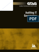GTAG 17 Auditing IT Governance 2012