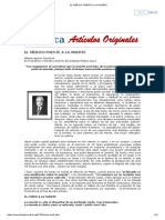 Aguirre Sandoval, El Médico Frente a La Muerte