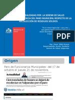 Analisis Gestion de Residuos en Paro Municipal 2017 1