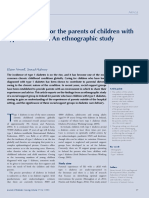 Social Support for the Parents of Children With
