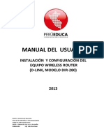 Manual Del AP Dlink-wfm-111 v.2013