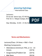 Hydrology 1 Intro