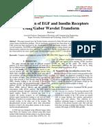 Classification of EGF and Insulin Receptors