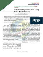Incorporation of Tissue Engineered Skin Using