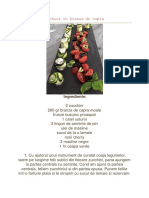 Zucchini Cu Branza de Capra