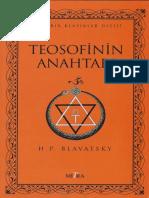 H. P. Blavatsky - Teosofinin Anahtarı_CS