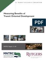 1142 Measuring TOD Benefits