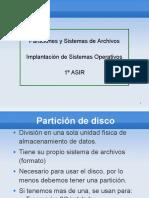 Particiones y Sistemas Operativos