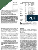 notice sheet 26th november 2017