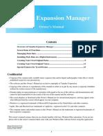 OwnersManual Yamaha Expansion Manager en Om v250 h0