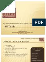 10 K Club Corporate Presentation - Draft 2