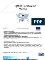 Organizações de Que Portugal Faz Parte