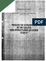 DTR B C 2 44 (CCM97) Règles de conception et de calcul des structures en Acier.pdf