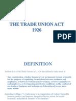 Trade Union Act 1926 1