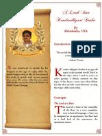 A Lookin to Kendradhipati DoshaBW