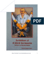 Scribblings of a Shirdi Sai Devotee