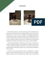 Object Lesson. Pedro J. Trujillo