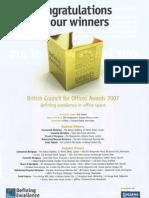 eOffice Awards BCO - National Innovation Winner 2007 10