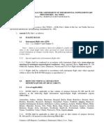 ICAO Doc 7040 Amendment