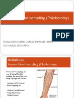 Venous Blood Sampling (Phlebotomy)