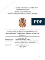 TESIS EVALUACION RECOLECCION ALMACENAMIENTO  AGUA PRECIPITADA ZANJAS DE INFILTRACION ok.docx